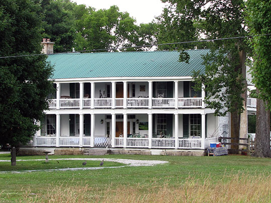 William Washington Seay House, ca. 1835, 10575 Trousdale Ferry Pike, Flat Rock, Wilson County, TN, National Register