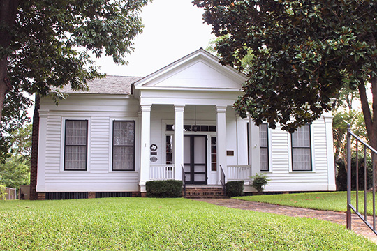 Howard House, ca. 1848, 1011 North Perry Street, Palestine, TX, National Register