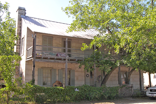Jureczki House, ca. 1876, 607 Cypress Street, Bandera, TX, National Register