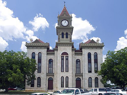 Bosque County Texas Courthouse