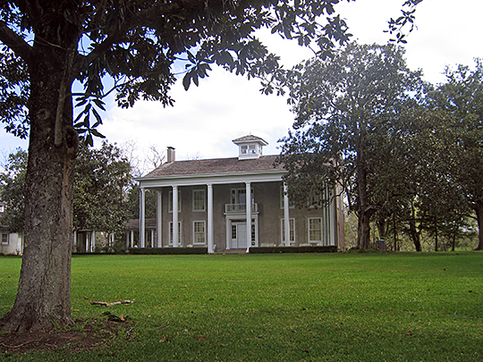 Varner-Hogg Plantation, ca. 1830s, northeast of West Columbia, Brazoria County, Texas, National Register