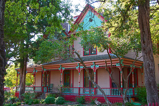 Ammie Wilson House (Heritage Farmstead Museum), ca. 1891, 1900 West 15th Street, Plano, TX, National Register