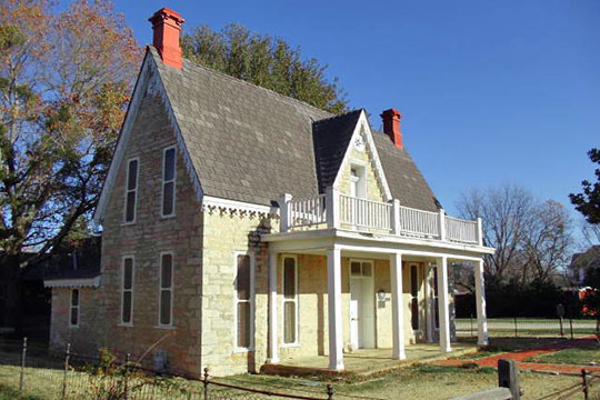 J. D. Berry House, ca. 1869, 525 East Washington Street, Stephenville, TX, National Register