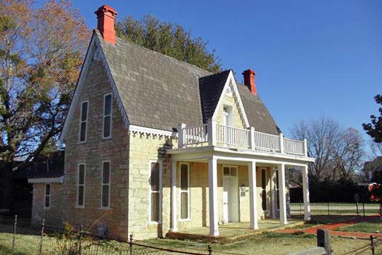 J. D. Berry House, ca. 1869, 525 East Washington Street, Stephenville, TX, National Register