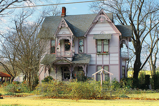 Clendenen-Carleton House, ca. 1888, 803 North Main Street, Bonham, TX, National Register
