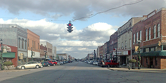 Main Street, Downtown Denison, TX