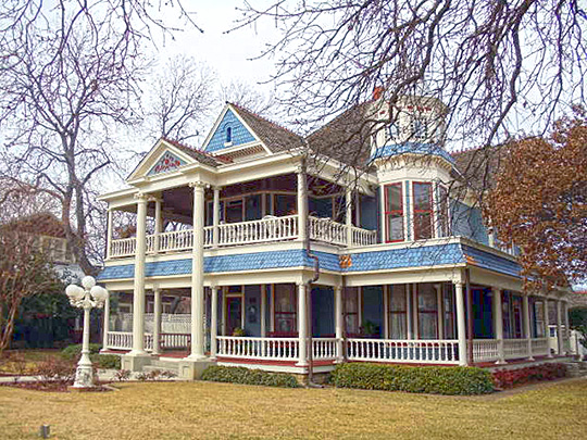 baker-carmichael house,east pearl street,texas landmark,national register,granbury,hood county,tx,1905