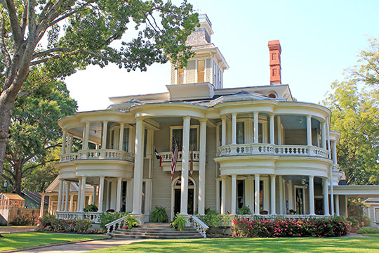 Mathew Cartright House, ca. 1893, 505 Griffith Avenue, Terrell, TX, National Register