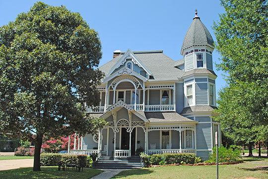Roland Jones House, ca. 1897, 141 North Church Street, Nacogdoches,TX, National Register