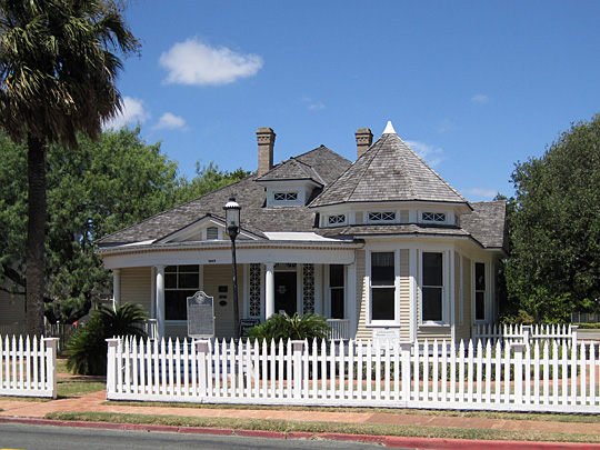 S. Julius Lichtenstein House, 1617 North Chaparral Street, Corpus Christi, TX