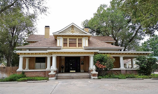 Alice Ghormley Curtis House, ca. 1907, 1616 South Washington Street, Amarillo, TX, National Register