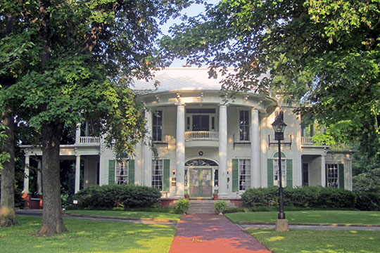 Goodman-LeGrand House, ca. 1859, 625 North Broadway, Tyler, TX.