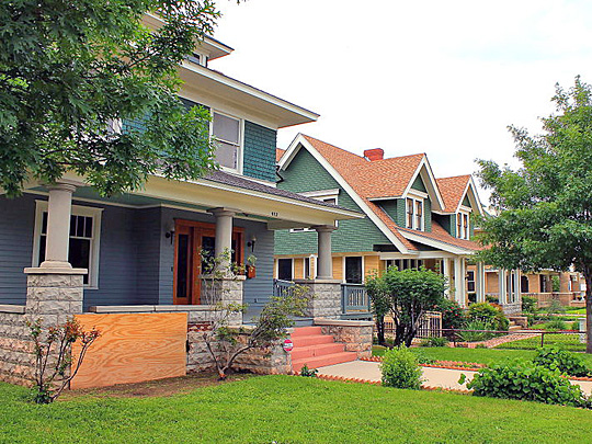 Residences in the Eighth Avenue Historic District, Fort Worth, TX, National Register