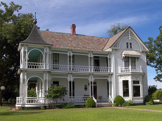 William Braxton Barr House, ca. 1898, 10463 Sprinkle Road, Austin, TX, National Register