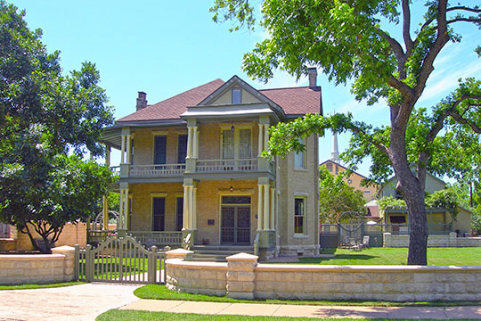 Frank M. and Annie G. Covert House, ca. 1898, 3912 Avenue G, Hyde Park Historic District, Austin, TX, National Register