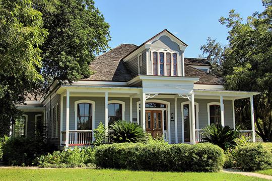 McNamara-O'Conner House, ca. 1876, 502 North Liberty Street, Victoria, TX, National Register