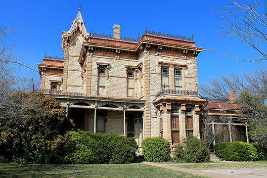 Waggoner Mansion, ca. 1883, 1003 East Main Street, Decatur, TX, National Register