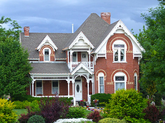 George W. Layton House, ca. 1897, 2767 W. Gentile Street, Layton, UT, National Register