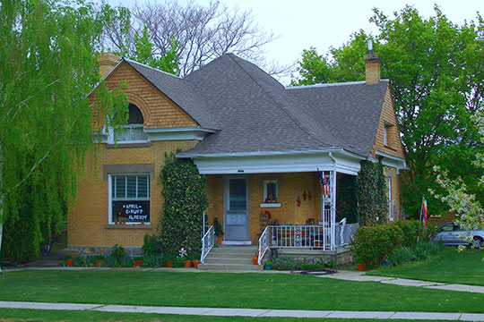 William and Nettie Glover House, ca. 1904, 106 W 200 North, Brigham, UT, National Register