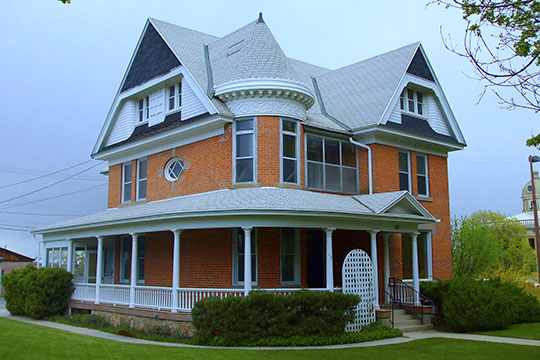 Jonathan and Jennie Knudson House, ca. 1898-1901, 48 S 100 East, Brigham, UT, National Register