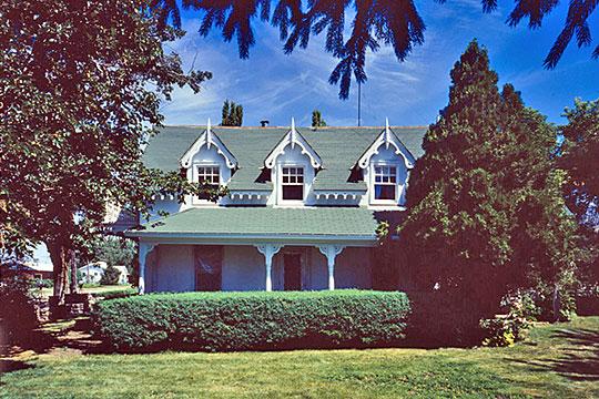 John L. Edwards House, ca. 1868, 55 South 200 West, Willard, UT