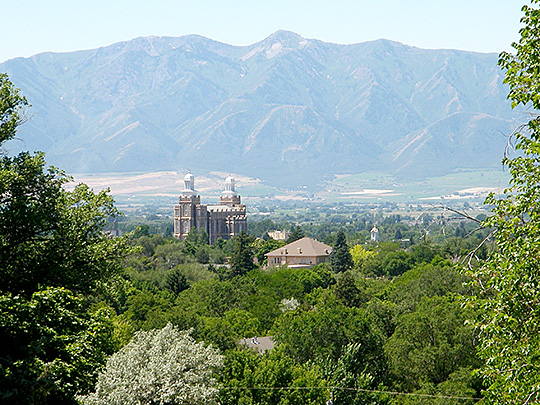 logan, ut, lds temple, old main hill, utah state