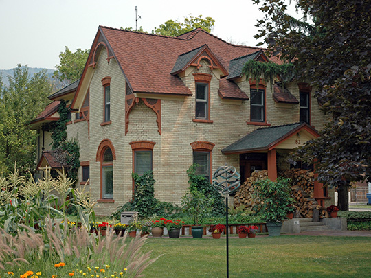 John and Anna Crockett House, ca. 1887, 82 Crockett Avenue, Logan, UT, National Register