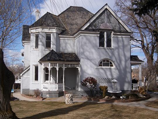 Reid Beck House, ca. 1899, 12542 S. 900 East, Draper, UT, National Register