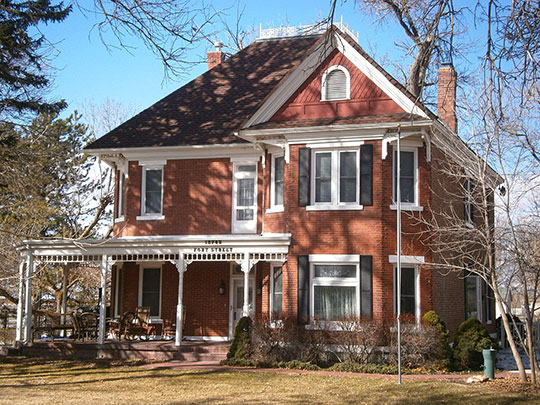 Benjamin and Olivia Meek House, ca. 1898, 2782 South Fort Street, Draper, UT, National Register