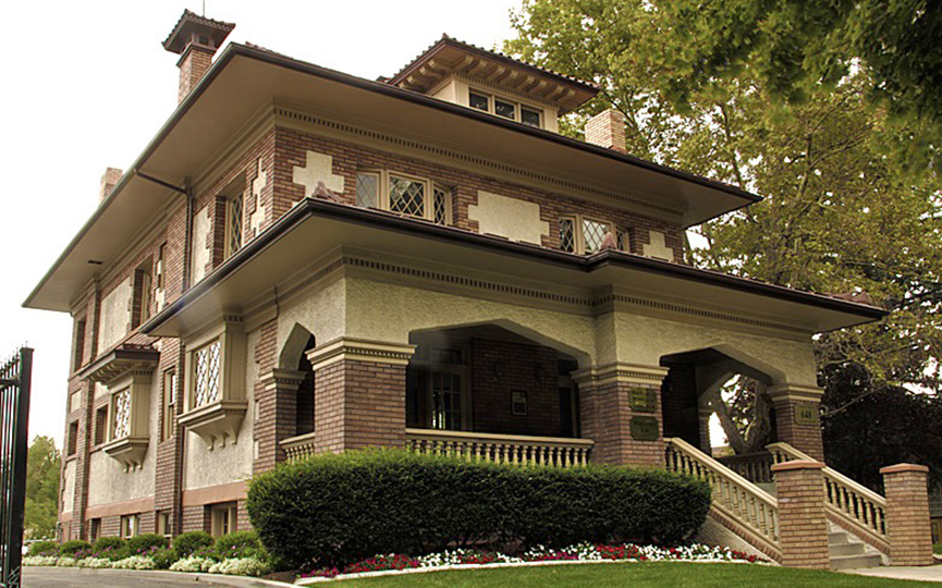James and Susan R. Langton House, ca. 1908, 648 E. 100 South, Salt Lake City, UT, National Register