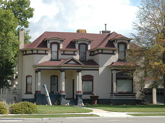 Thomas L. Allen House, 98 North Main Street, Coalville, UT, National Register