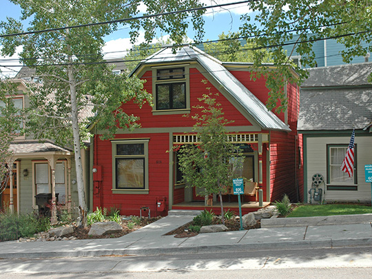 John F. Cunningham House, ca. 1901, 606 Park Avenue, Park City, UT, National Register