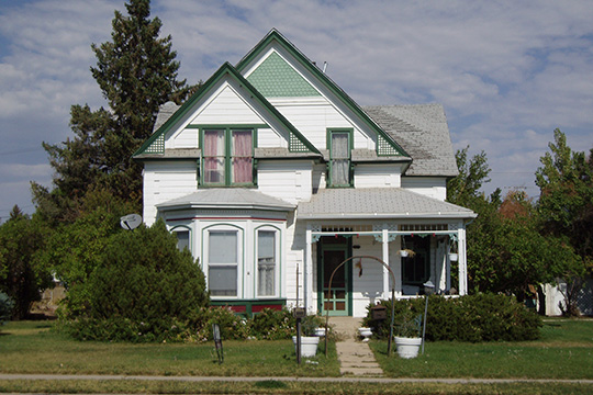 Fenn-Bullock House, ca. 1901, 388 West 100 North, Vernal, UT, National Register