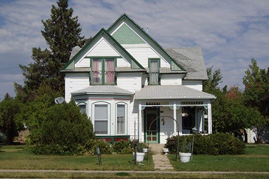 Fenn-Bullock House, ca. 1901, 388 West 100 North, Vernal, UT, National Register