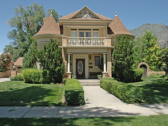 T. R. Kelly House, ca. 1903, 164 W. 200 South, Provo, UT, National Register.