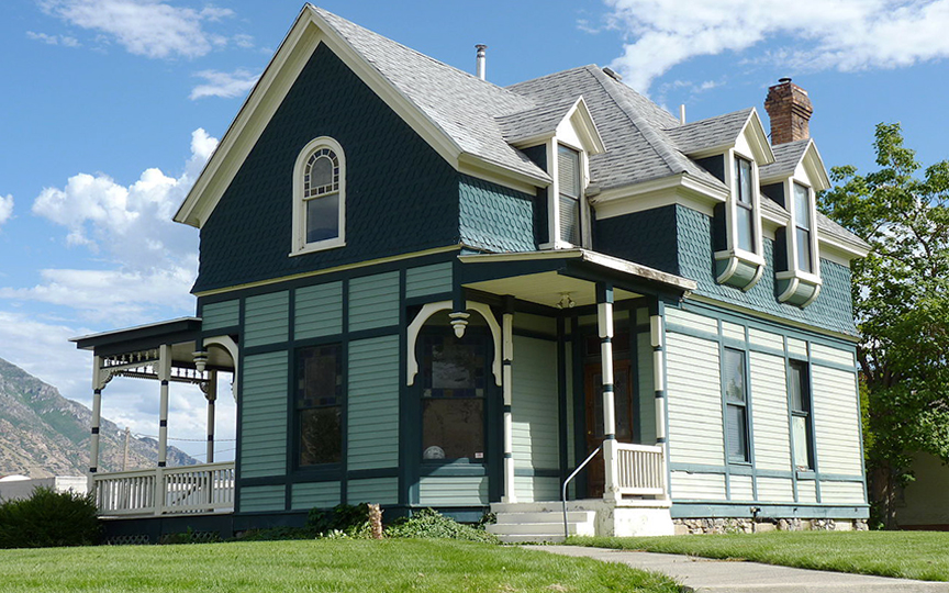William D. Alexander House, ca. 1891, 91 W. 200 South, Provo, UT, National Register.