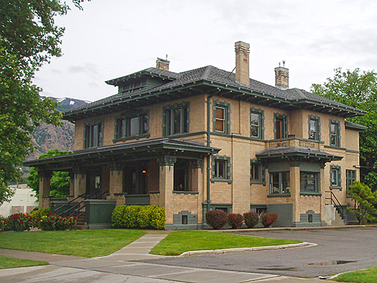 Heber Scowcroft House, ca. 1909, 795 24th Street, Ogden, UT, National Register