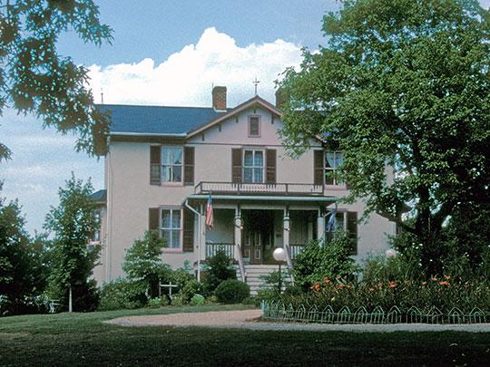 High Meadows, ca. 1831, Route 20, Scottsville, VA, National Register