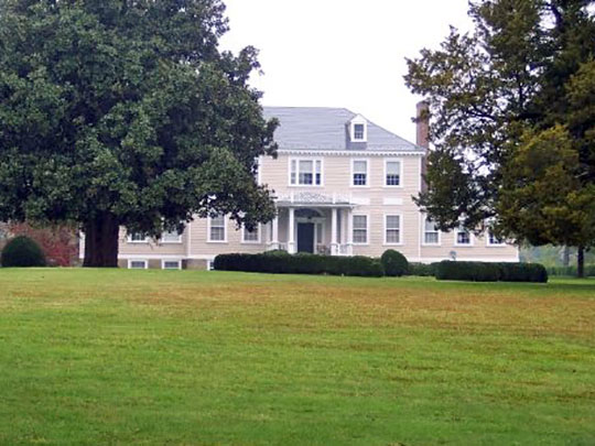 Haw Branch Plantation Home, ca. 1748, Route 667, Amelia Court House, VA, National Register