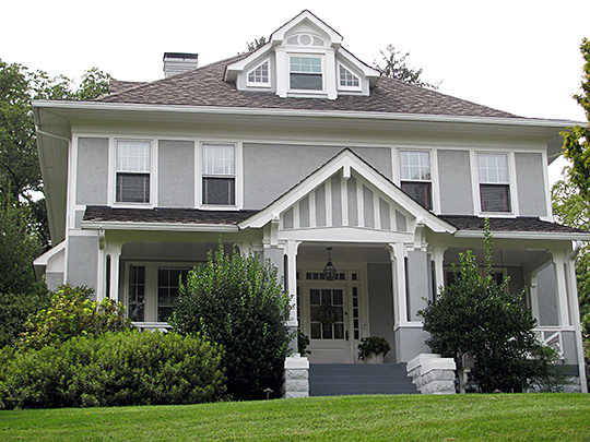 Saegmuller House, ca. 1919, 5101 Little Falls Road, Arlington, VA, National Register