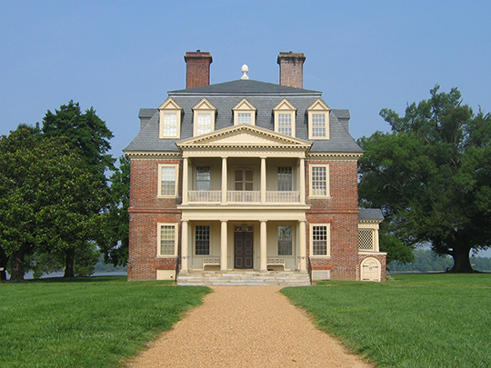 Shirley Plantation, ca. 1723, along the James River, Charles City County, VA, National Register