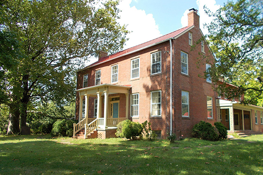 Bloomfield (Holly Knoll), ca. 1858, 12000 Leesburg Pike, Herndon, VA, National Register