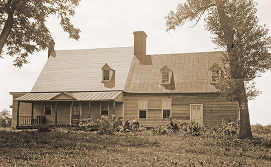 Hope Park Mill and Millers House, ca. 1800, 11807 Pope's Head Road, Fairfax, VA