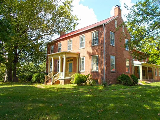 Bloomfield, Holly Knoll, ca. 1858, 12000 Leesburg Pike, Herndon, VA, National Register