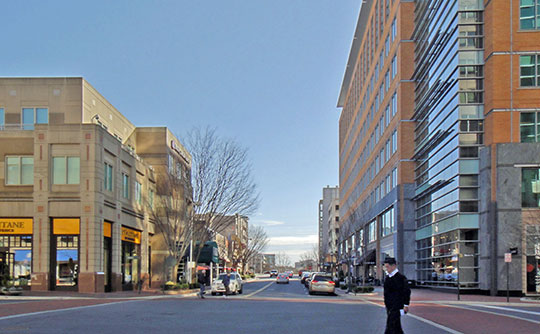 Reston Town Center (Main Street and Fountain Square), Reston, VA