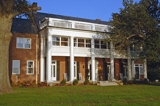 Holly Knoll (Robert R. Morton House), ca. 1935, Route 662, Capahosic, VA, National Register