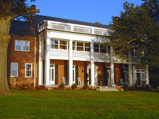 Dr. Robert R. Moton House (Holly Knoll), ca. 1935, Capahosic, Gloucester County, VA, National Register