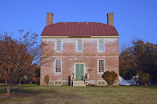 Cappahosic House (Baytop House), ca. 1751, 3198 Cappahosic Road, Gloucester, VA, National Register