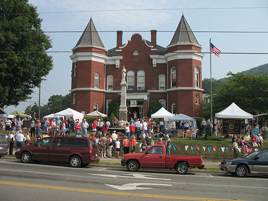 Grayson County Courthouse, Main Street, Independence, VA, National Register