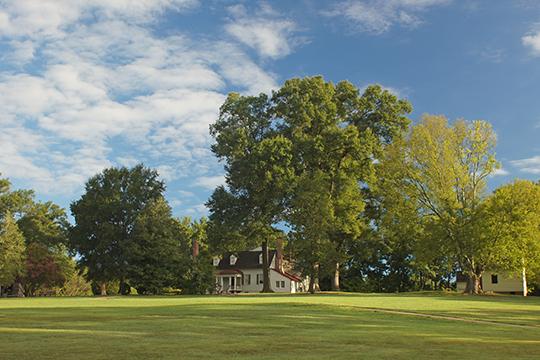 Meadow Farm, ca. 1800, Glen Allen, VA, National Register